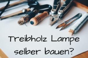 Treibholz Lampe selber bauen?